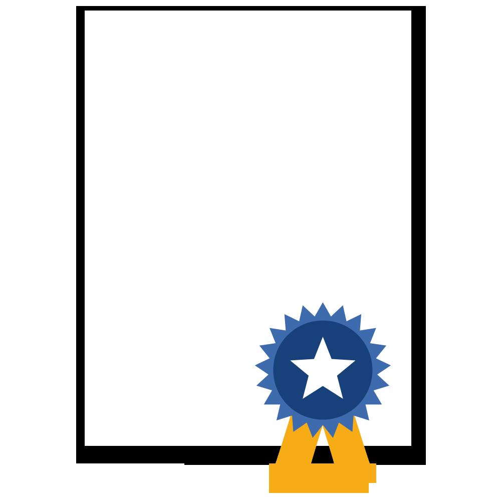 Grafik Zertifikat - Zertifizierungsmanagement von ModernTrain